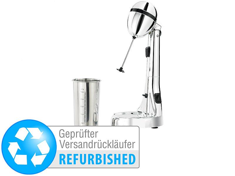 Cocktail Shaker Barmixer Standmixer 2 x Mix-Becher Profi Mixer 350 Watt