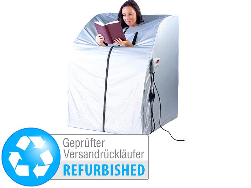 newgen medicals infrarotkabinen tragbare infrarot sauna v2 mit 2 heizern versandr ckl ufer. Black Bedroom Furniture Sets. Home Design Ideas