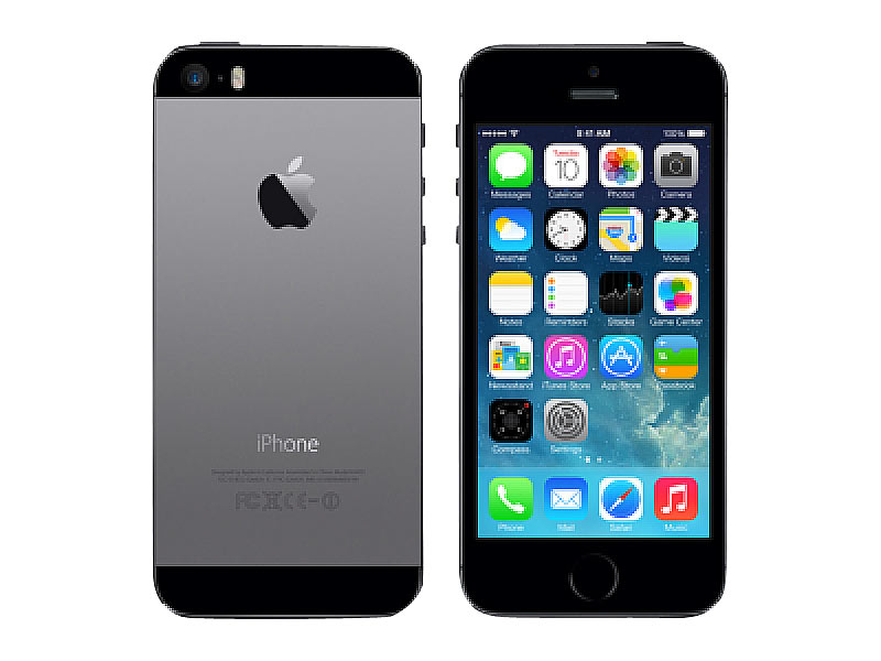 apple iphone 5s a1457 mit 16 gb spacegrau refurbished. Black Bedroom Furniture Sets. Home Design Ideas
