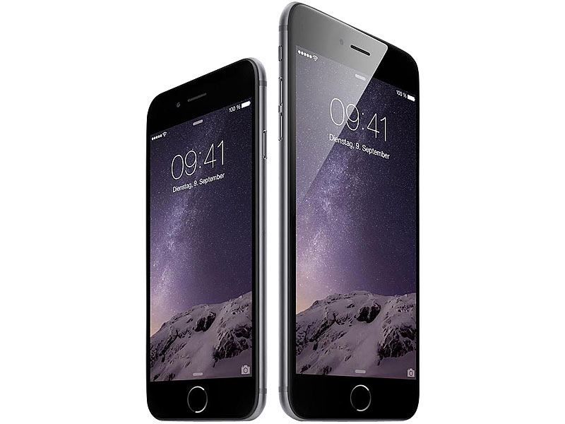 apple iphone 6 a1586 mit 16 gb spacegrau refurbished. Black Bedroom Furniture Sets. Home Design Ideas