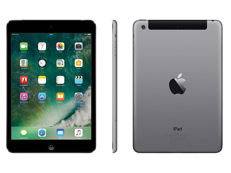 apple ipad mini 2 20 1cm qxga a7 16 gb wifi umts. Black Bedroom Furniture Sets. Home Design Ideas