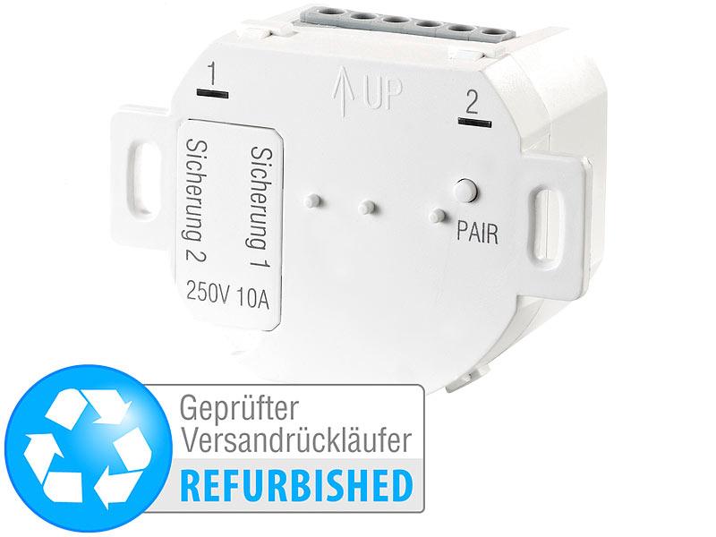 casacontrol schalter mit funksender unterputz funk doppelschalter f r smart wifi. Black Bedroom Furniture Sets. Home Design Ideas