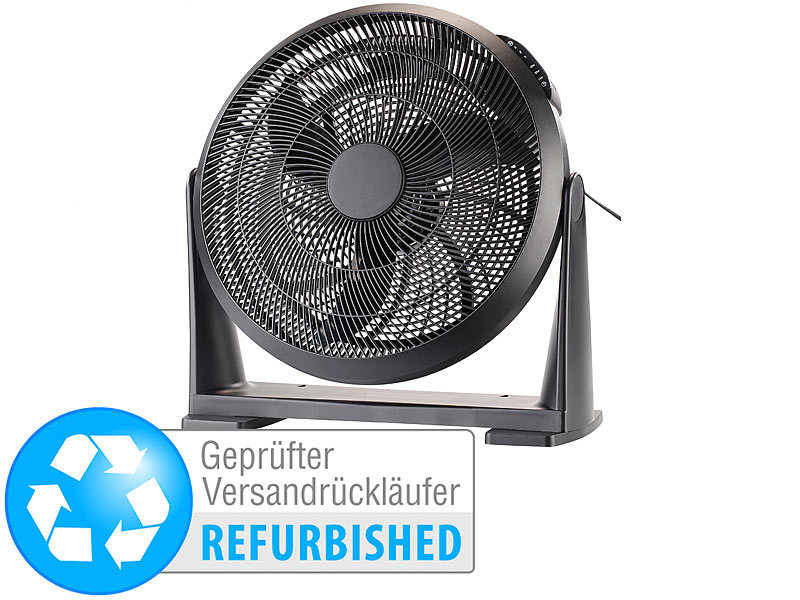 sichler tisch ventilatoren xxl wand boden raum ventilator 55 w versandr ckl ufer wand. Black Bedroom Furniture Sets. Home Design Ideas