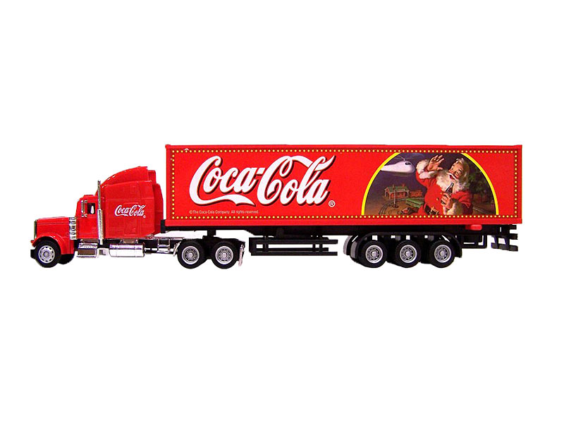 coca cola weihnachts truck 31 cm. Black Bedroom Furniture Sets. Home Design Ideas