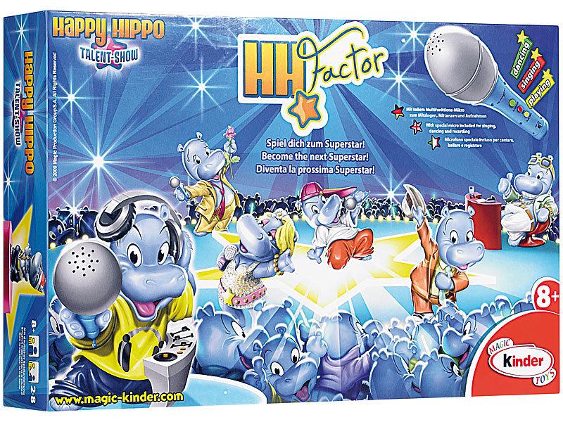 Karaoke-Spiele: Happy Hippo Karaoke-Set (Pop Stars Music Karaoke ...