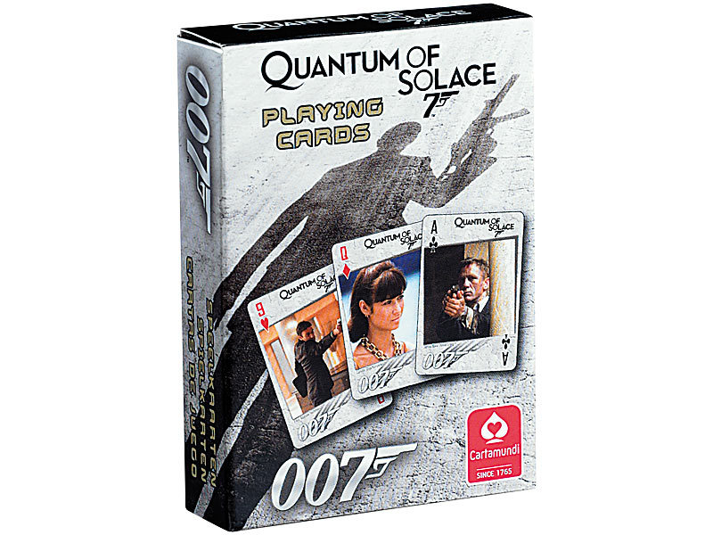 karten spiel pc software james bond 007 quantum of solace. Black Bedroom Furniture Sets. Home Design Ideas