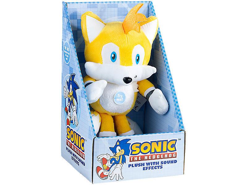 sonic the hedgehog tails  plüschfigur mit