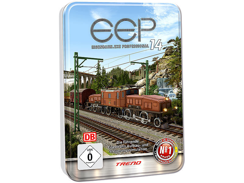 Eep eisenbahn exe expert in metall