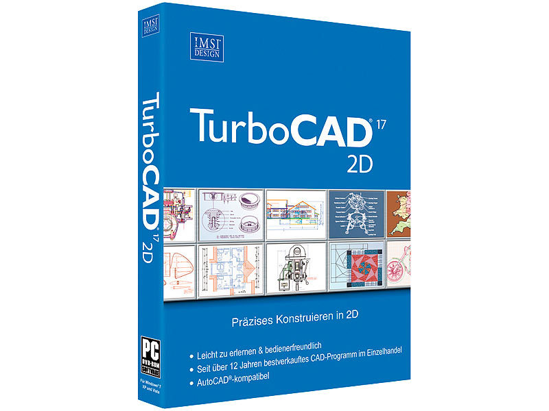 Imsi turbocad designer 2d v17 software