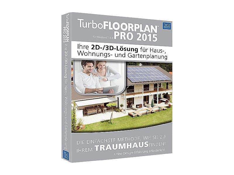 Konstruktionssoftwares: IMSI TurboFLOORPLAN Pro 2015 Bild 1