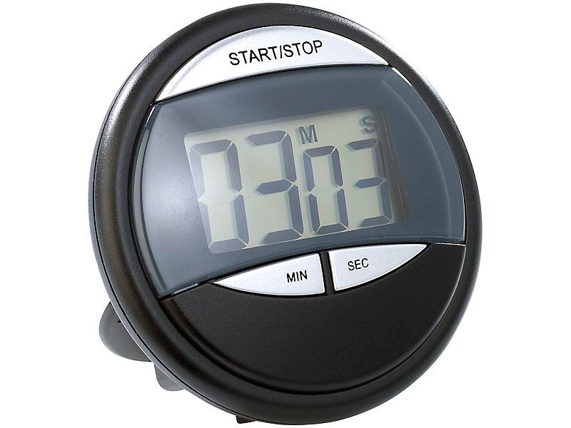 Kühlschrank Uhr Magnetisch : Pearl kurzzeitmesser: küchen timer mit magnethalterung countdown uhr