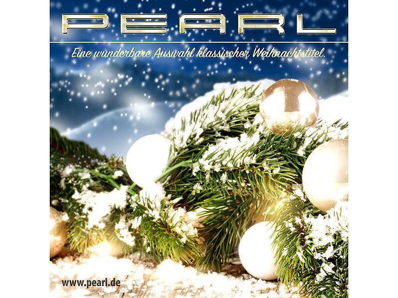 PEARL Weihnachtslieder: Deutsche Weihnachts-CD (Musik CD)