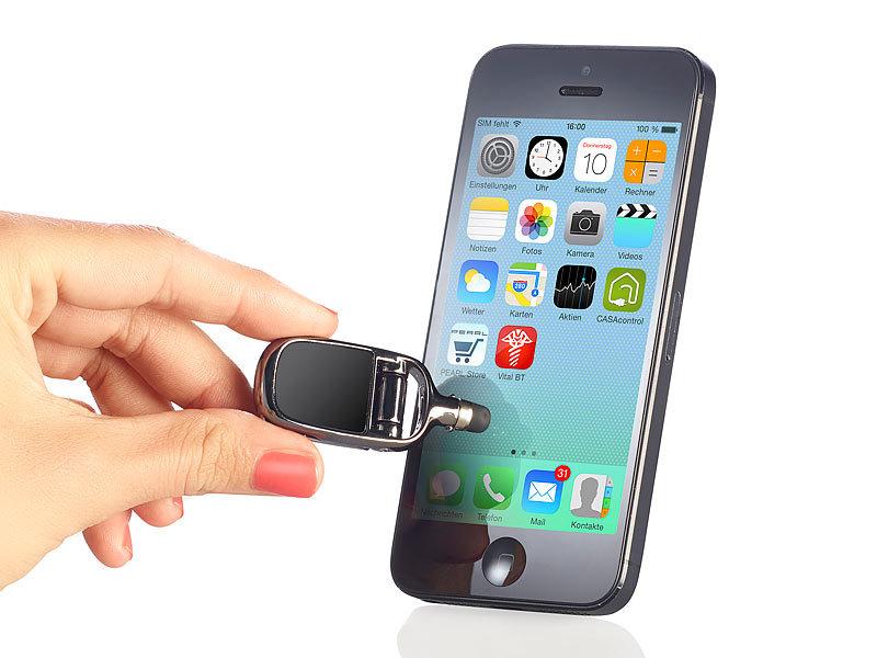 pearl touchscreen pen 4in1 touchscreen stift mit reinigungspad und standfunktion eingabestift. Black Bedroom Furniture Sets. Home Design Ideas