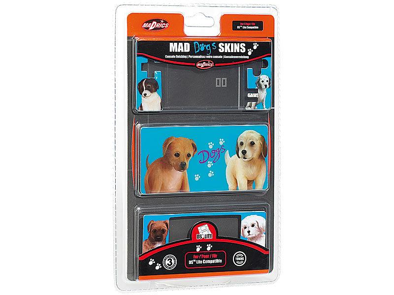 mad dogs skins f r nintendo ds lite blau nintendo ds. Black Bedroom Furniture Sets. Home Design Ideas