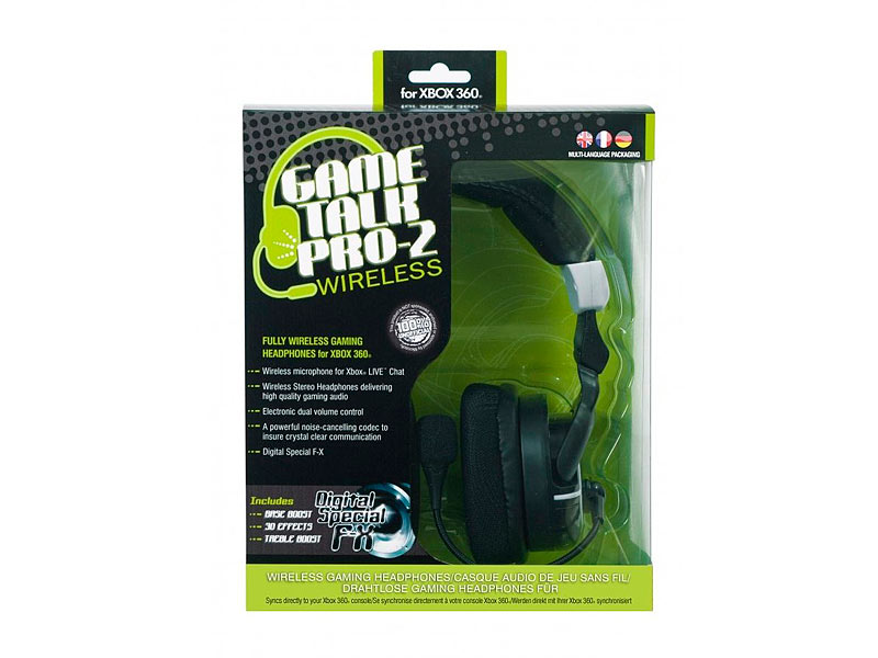 GameTalk 2 Pro Wireless Gaming Headset (Xbox 360)