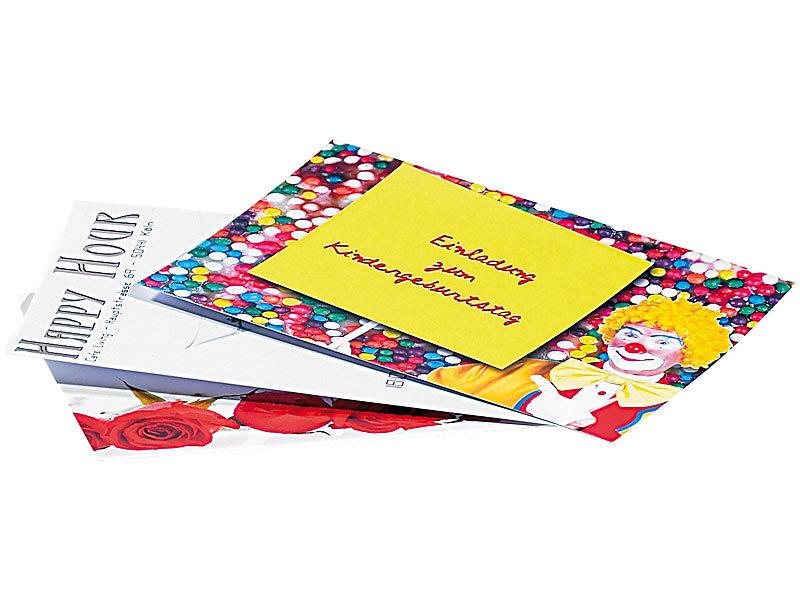 Your Design Bedruckbare Postkarten: 90 Inkjet-Karten zum ...