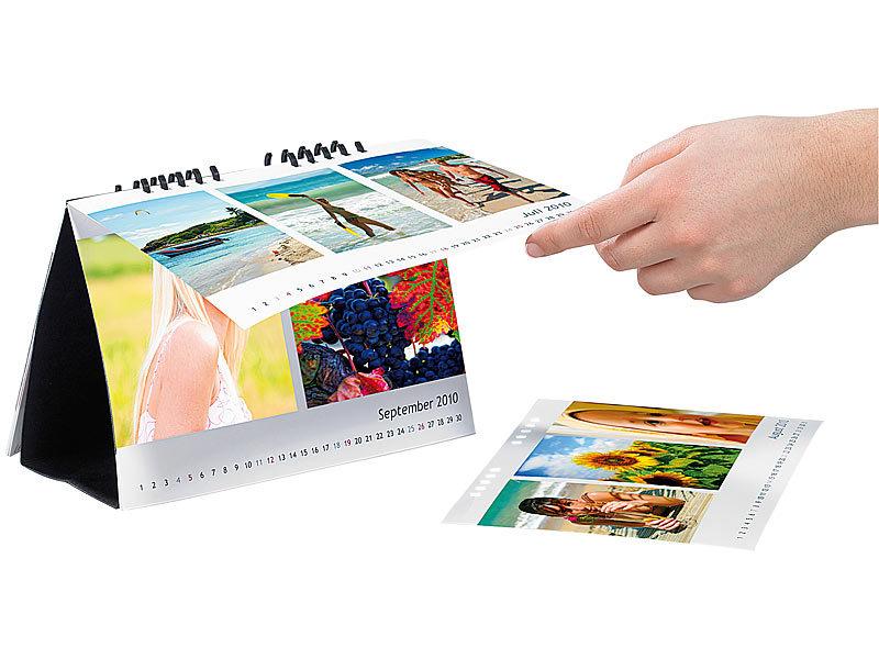 your design kalender papier tischkalender a5 quer 260g m geschenk kalender f r drucker. Black Bedroom Furniture Sets. Home Design Ideas
