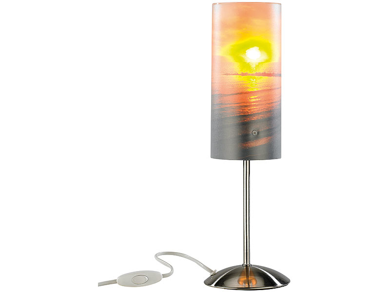Your Design Fotolampe: Individuelle Tischlampe bedruckbar mit Ihrem ...