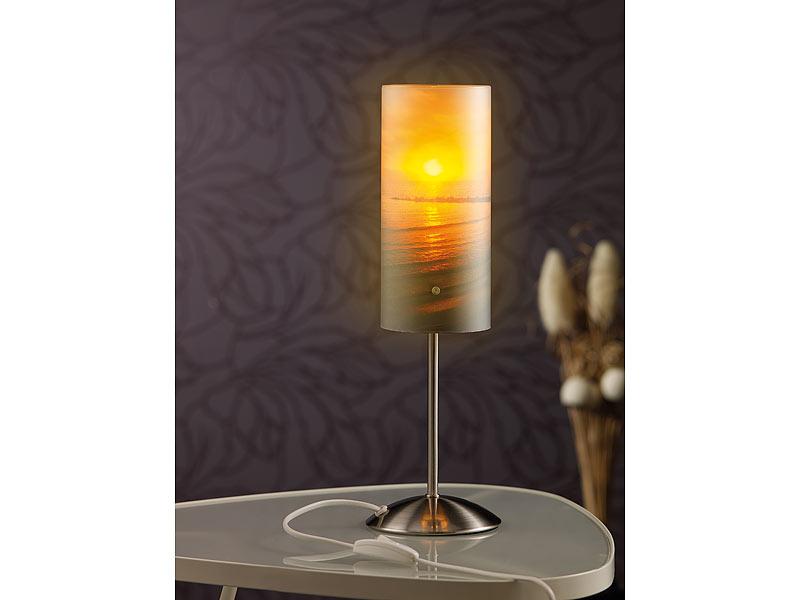 Your design fotolampen individuelle tischlampe bedruckbar for Foto lampen