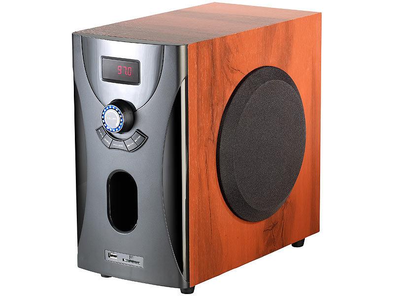 auvisio home-theater surround-sound-system 5.1, 160 watt, mp3, Wohnzimmer