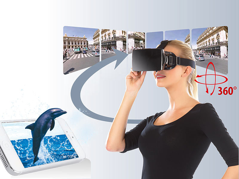pearl smart phone vr boxes virtual reality brille vrb60. Black Bedroom Furniture Sets. Home Design Ideas