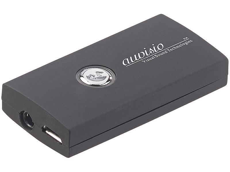 auvisio bluetooth adapter 2in1 audio sender und. Black Bedroom Furniture Sets. Home Design Ideas