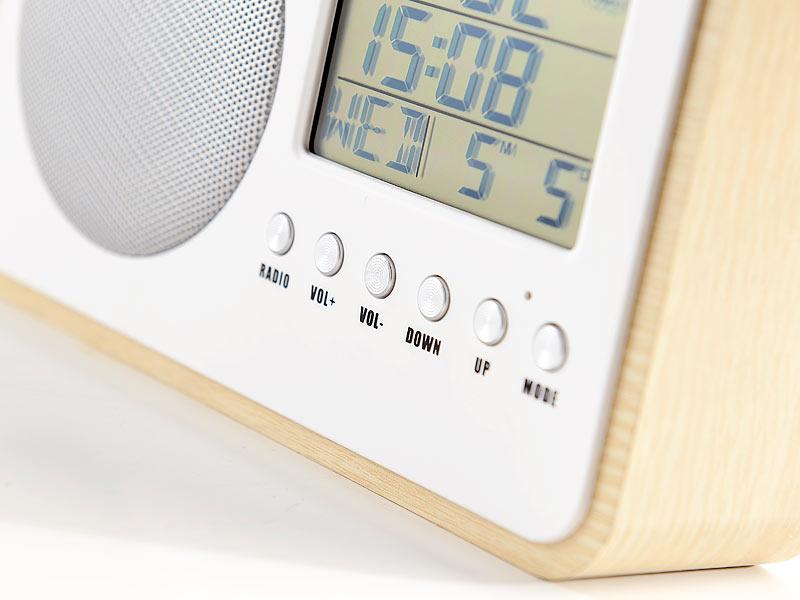 auvisio ukw radiowecker design fm radiowecker mit. Black Bedroom Furniture Sets. Home Design Ideas