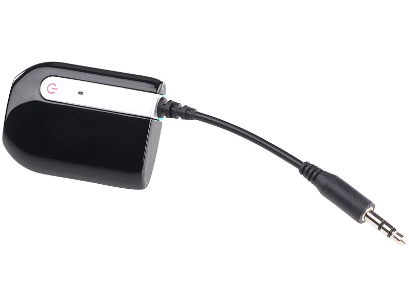 auvisio bluetooth sender klinke transmitter audio sender. Black Bedroom Furniture Sets. Home Design Ideas