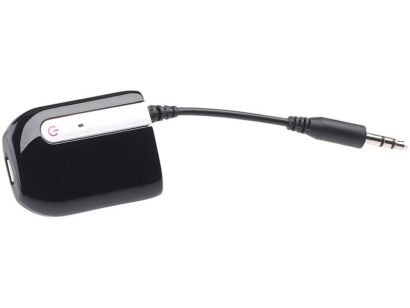 auvisio adapter bluetooth transmitter audio sender mit. Black Bedroom Furniture Sets. Home Design Ideas