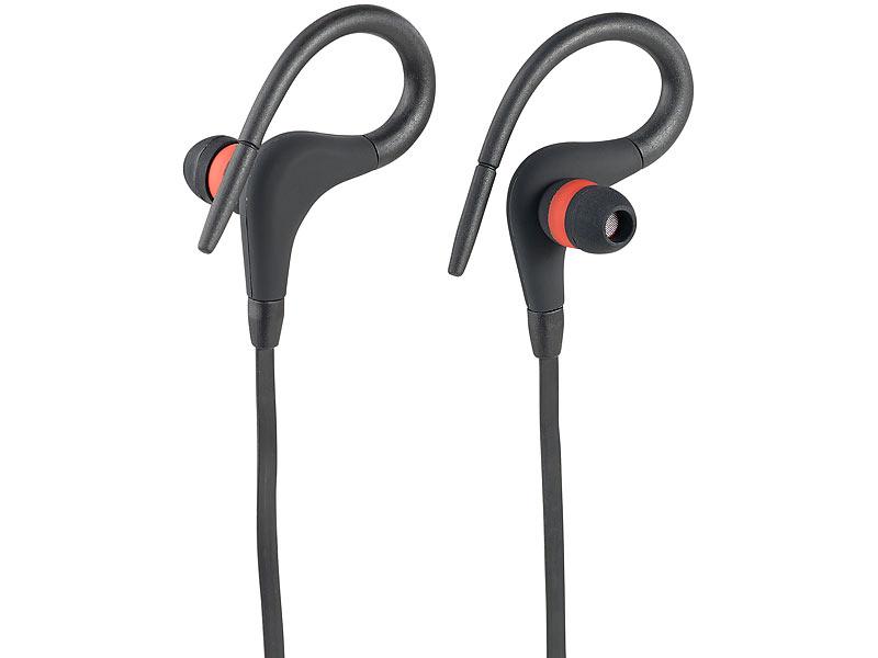 auvisio kopfh rer in ear in ear sport headset m. Black Bedroom Furniture Sets. Home Design Ideas