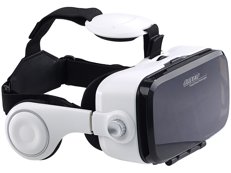 auvisio vr brillen virtual reality brille mit headset. Black Bedroom Furniture Sets. Home Design Ideas