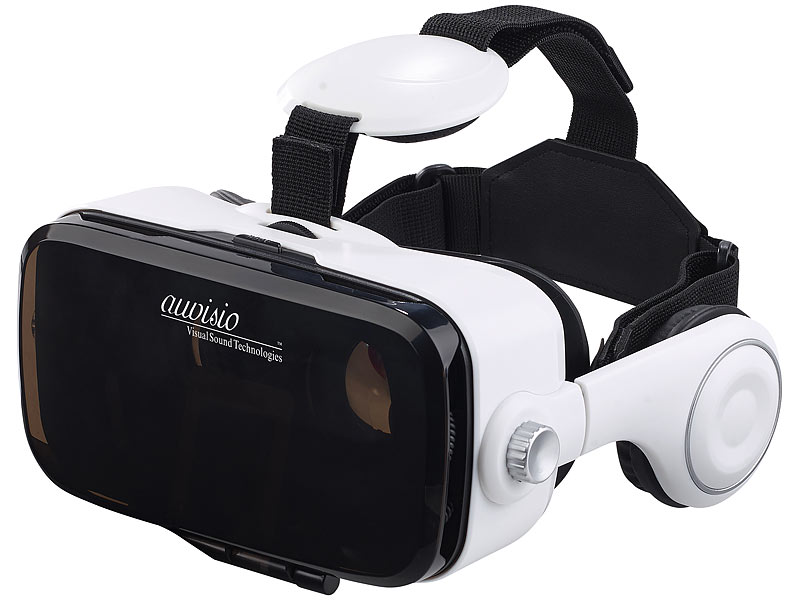 auvisio virtual reality brille mit headset game. Black Bedroom Furniture Sets. Home Design Ideas