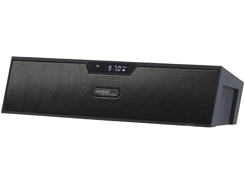 auvisio audio lautsprecher stereo lautsprecher bluetooth. Black Bedroom Furniture Sets. Home Design Ideas