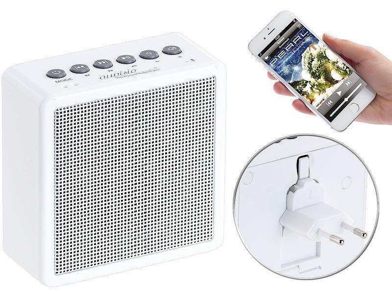 auvisio Badezimmer Radio: UKW-Steckdosenradio mit Bluetooth ...