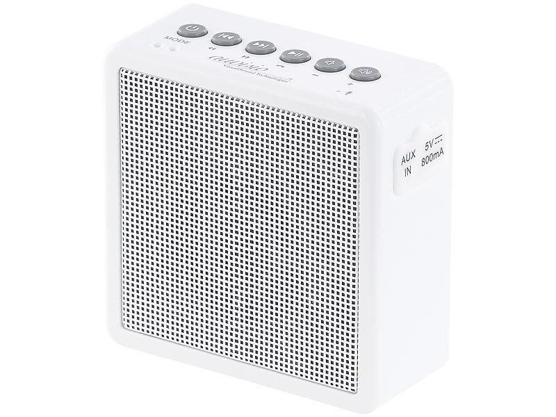 Auvisio Badradio Ukw Steckdosenradio Mit Bluetooth Freisprecher