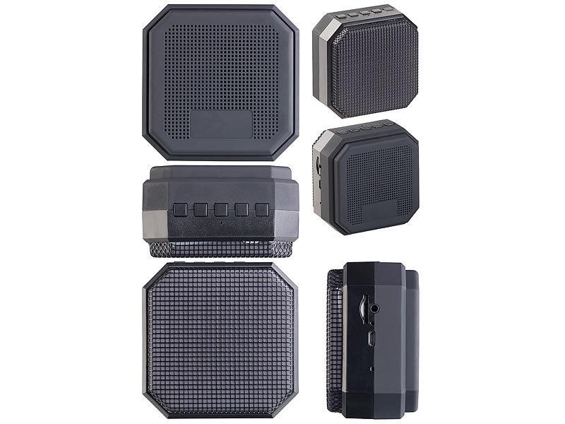 auvisio portable speaker mp3 aktiv lautsprecher mit. Black Bedroom Furniture Sets. Home Design Ideas