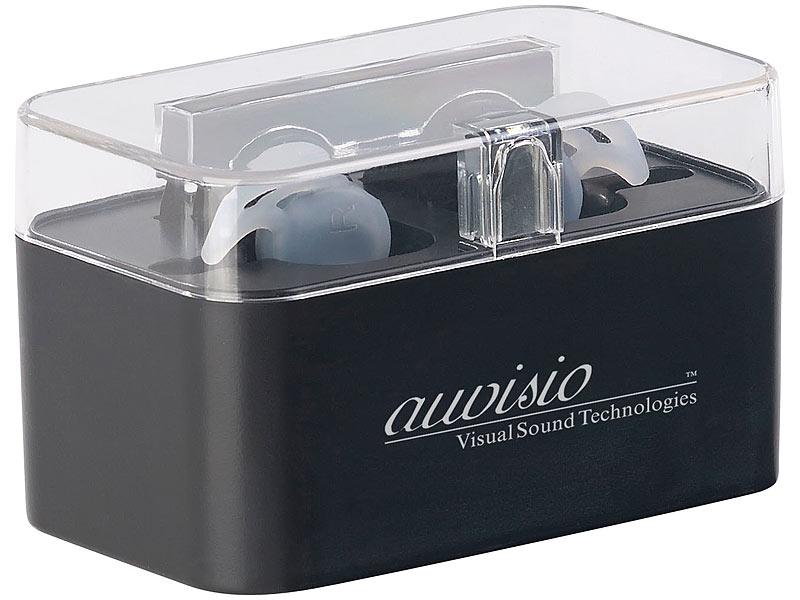 auvisio iphone kopfh rer true wireless in ear headset mit. Black Bedroom Furniture Sets. Home Design Ideas