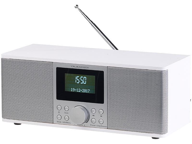 vr radio radiowecker digitales dab fm stereo radio mit. Black Bedroom Furniture Sets. Home Design Ideas