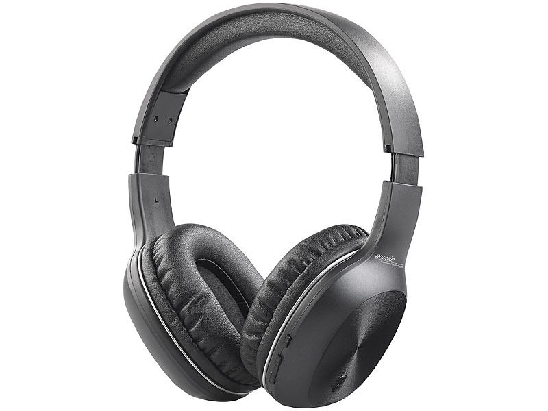 auvisio over ear kopfh rer over ear headset mit bluetooth. Black Bedroom Furniture Sets. Home Design Ideas