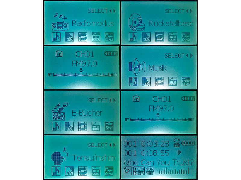 Protable Mini Clips Mp3 Player Sport Tragbare Mp3 Musik Spieler Media Player Unterstützt 8 Gb Micro Sd Heißer Neueste Technik Mp3-player
