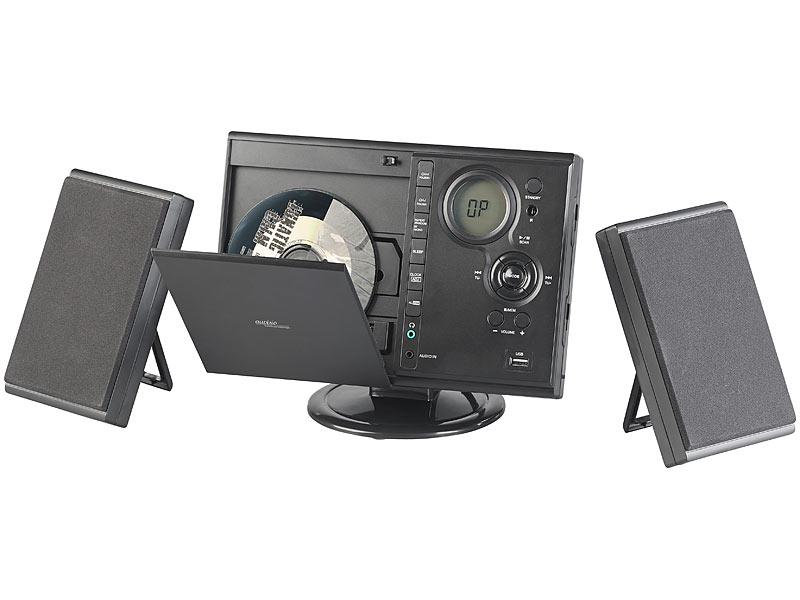 auvisio vertikale stereoanlage vertikale stereo. Black Bedroom Furniture Sets. Home Design Ideas