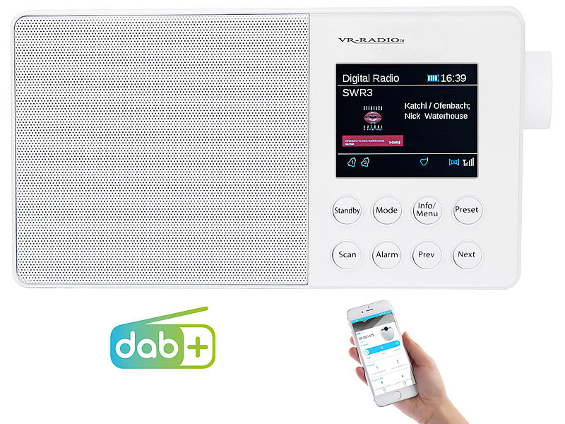 vr radio akkuradio mobiles akku digitalradio mit dab fm. Black Bedroom Furniture Sets. Home Design Ideas