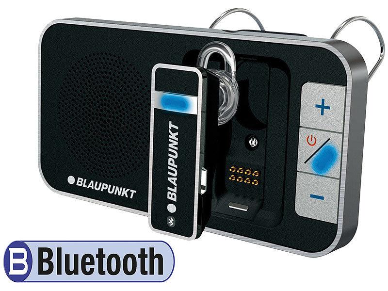 blaupunkt bt drive free 211 bluetooth pkw freisprechanlage mit headset. Black Bedroom Furniture Sets. Home Design Ideas
