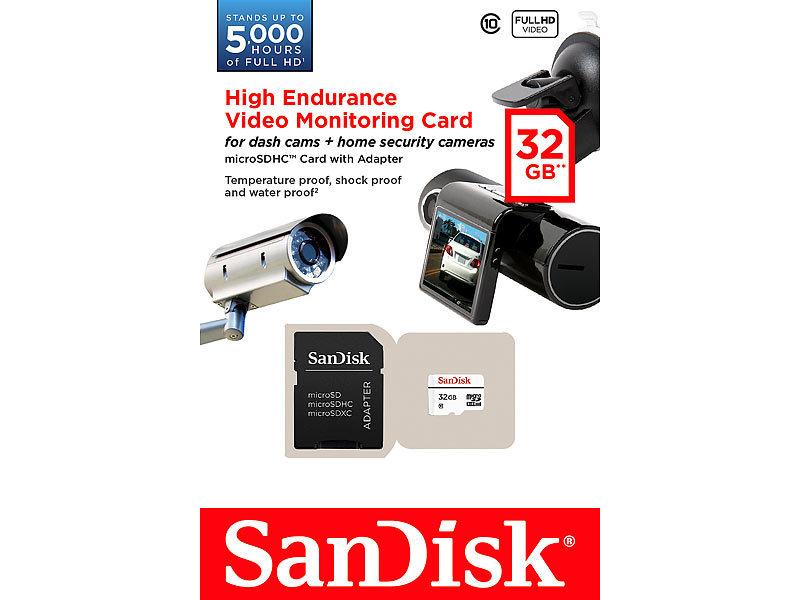 SanDisk SD Micro High Endurance MicroSDHC Speicherkarte
