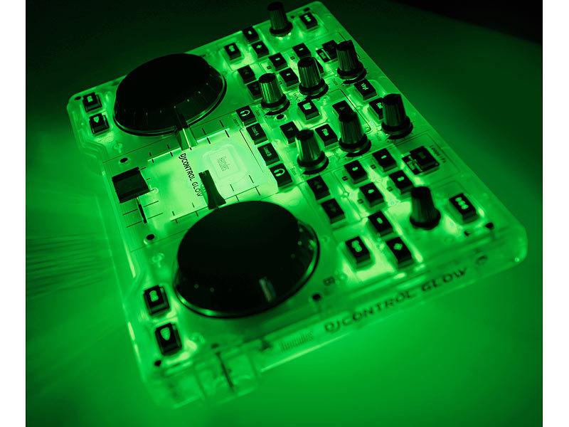 hercules dj mischpult dj control glow dj mixer. Black Bedroom Furniture Sets. Home Design Ideas