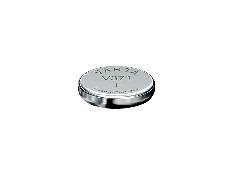 10 x Varta V370 SR920W SR69 SR920 1,55V UhrenBatterien  Silberoxid Knopfzelle