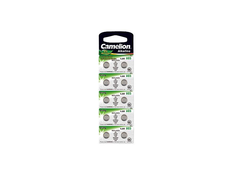 Akkus & Batterien Camelion Ag5 Knopfzelle Uhrenbatterie Alkaline Camelion 9 Blister Elektromaterial