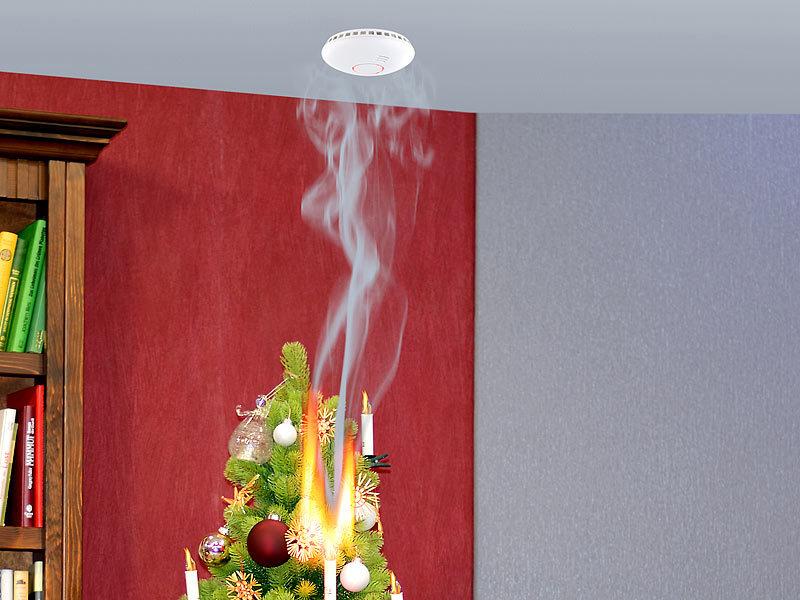 funk rauchmelder 2in1 vernetzbarer funk hitze rauchwarnmelder rwm 460 f 85 db rauchmelder. Black Bedroom Furniture Sets. Home Design Ideas