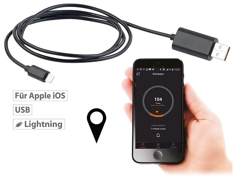 lescars fahrzeugfinder 2in1 car finder lightning. Black Bedroom Furniture Sets. Home Design Ideas