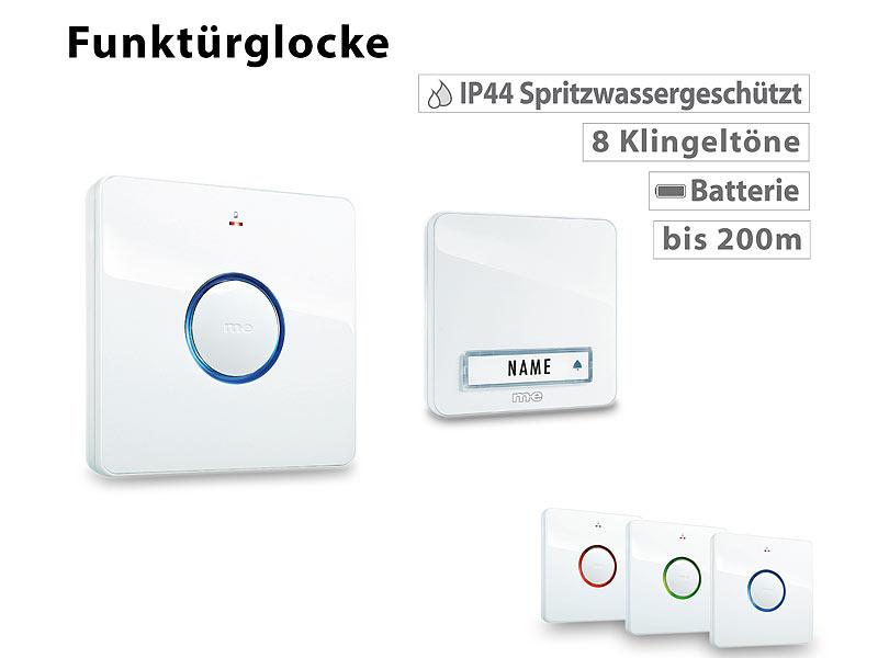 auvisio MP3 Klingel: MP3-Türklingel mit Software für Klingelton bis ...